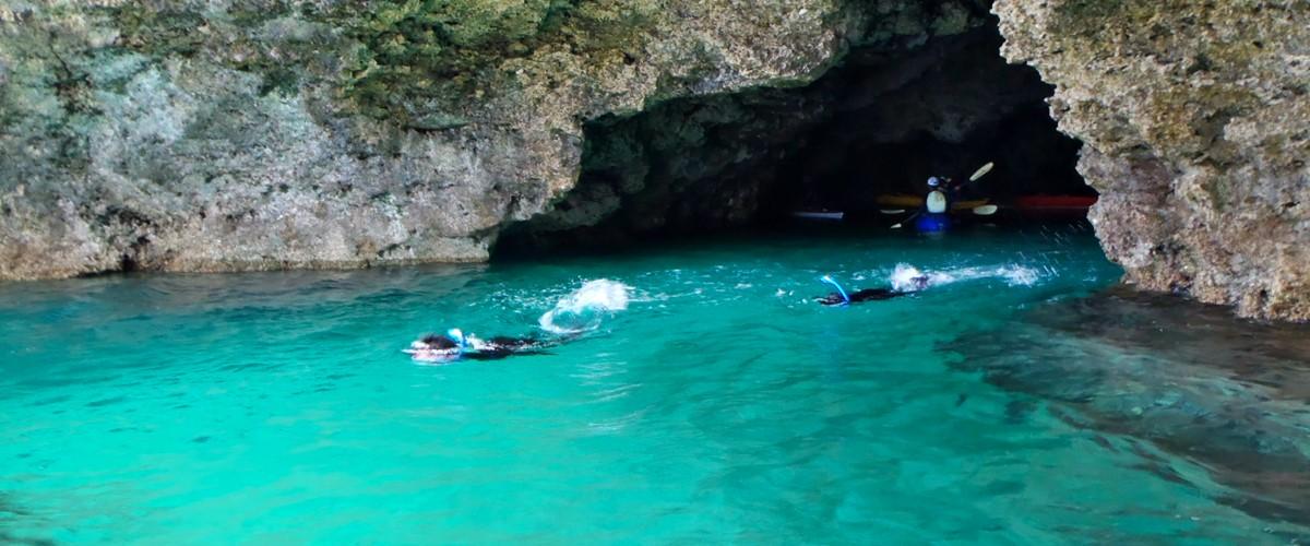 石垣島七つの大自然 青の洞窟(午前・午後)